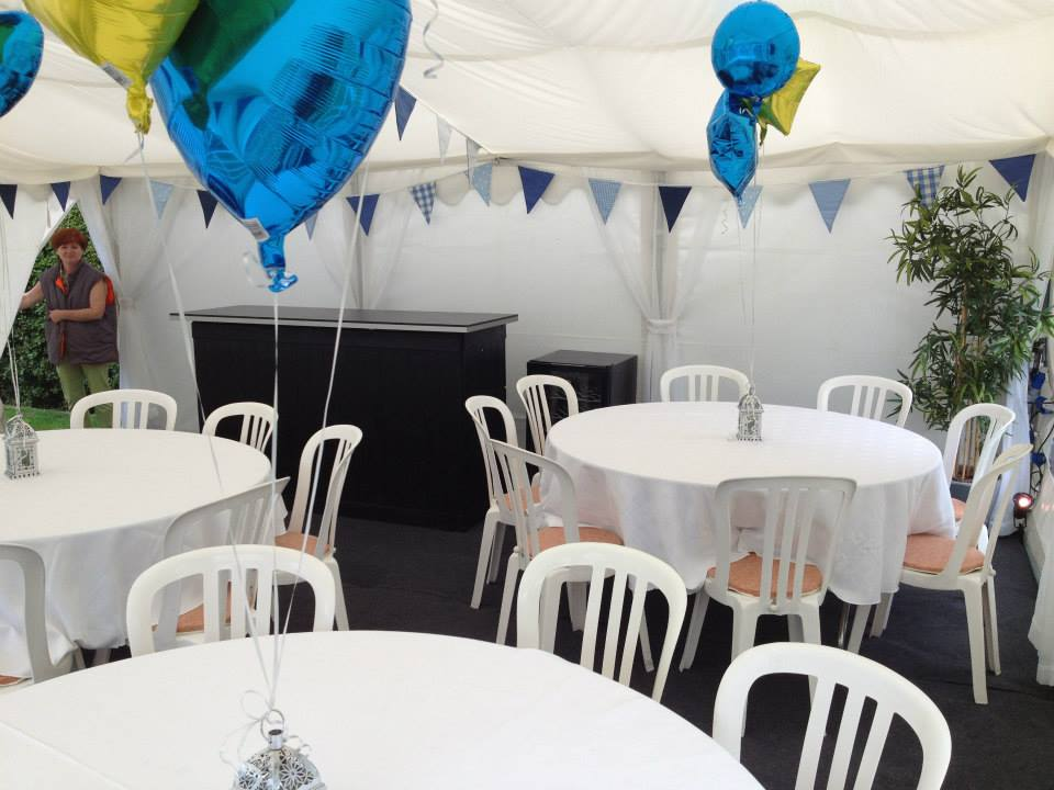 Marquee Hire with Bar in Cheshire | Jigsaw Marquee Hire