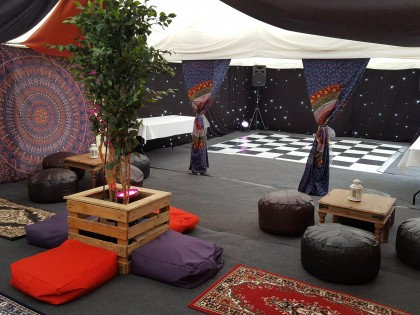 Jigsaw Moroccan Dance Marquee