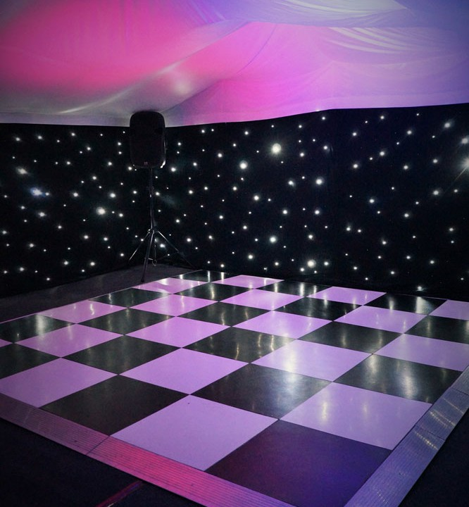 Starlit Dance Floor Hire Marquee