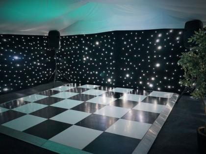 Starlit Dance Floor Hire Marquee