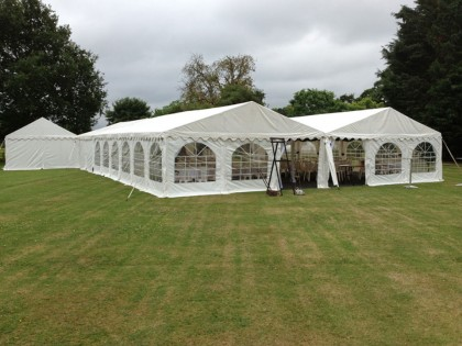 Jigsaw 180 Party Marquee in Westbury