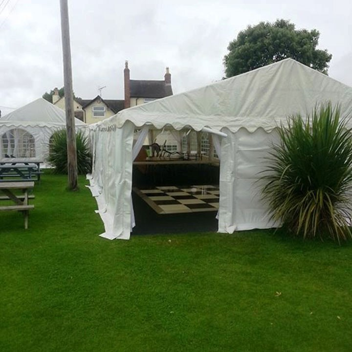 L Shaped Marquee Hire With Bar Amp Dance Floor Jigsaw