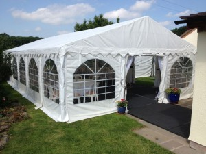 Jigsaw 108 Marquee for a 21st Birthday Party – Shrewsbury