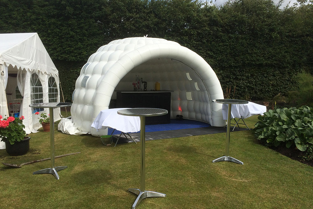 4 5m Inflatable Event Igloo Jigsaw Marquees