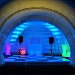 8m Inflatable Igloo Dance Igloo Jigsaw Marquees