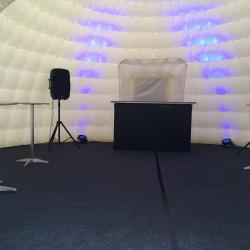 inside 8.5m igloo bar