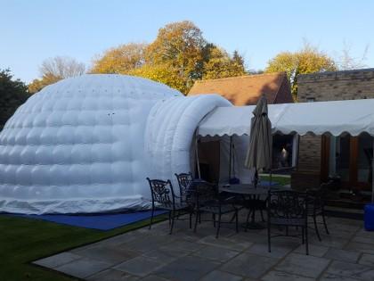 8m Inflatable Igloo in Sevenoaks
