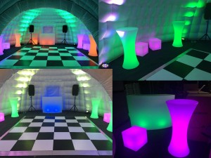 New LED Extras for our Igloos and Marquees
