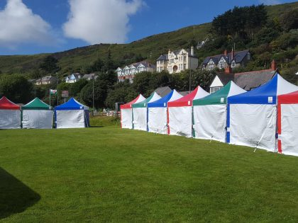 Jigsaw Gazebos at the Aberdovey Food Festival