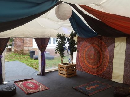 Jigsaw 36 Moroccan Marquee in Ringwood, Hampshire