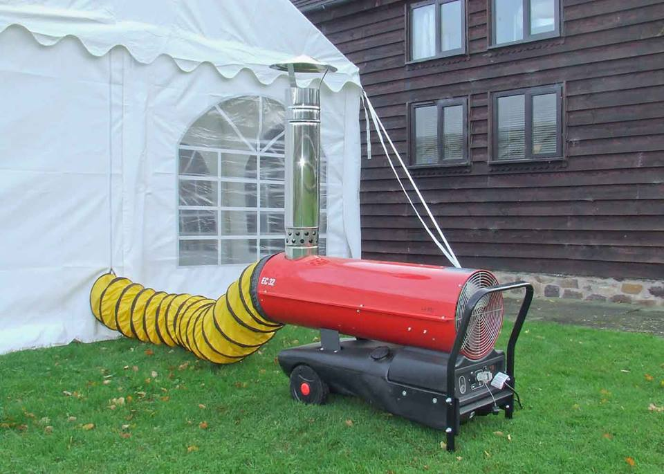 Marquee And Warehouse Heater Hire Jigsaw Marquees