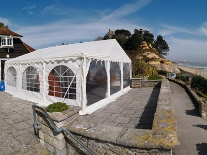 Jigsaw 36 Marquee package at Branksome Dene Chine, Poole