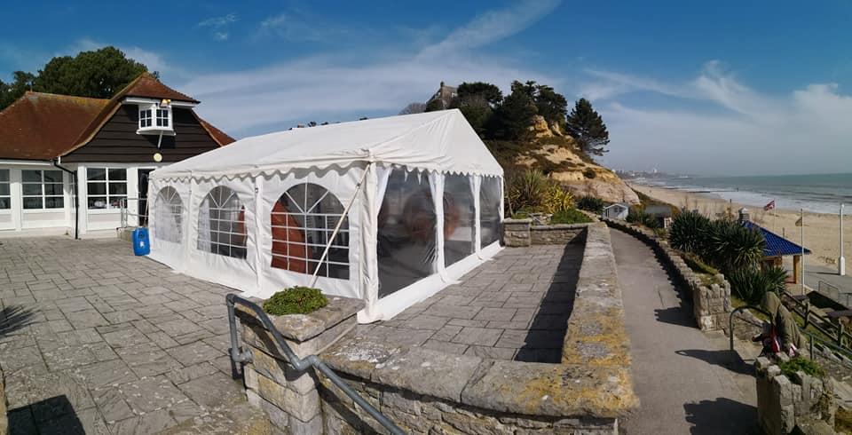Jigsaw 36 Marquee Package At Branksome Dene Chine Poole