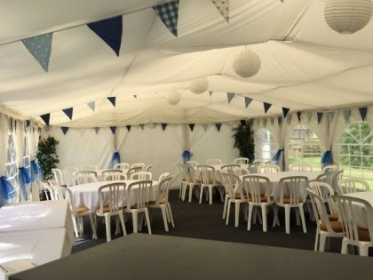 Birthday Parties and Last-Minute Summer Parties with Jigsaw Marquees