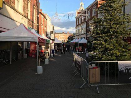 Gazebo Hire for Christmas Markets & Fetes